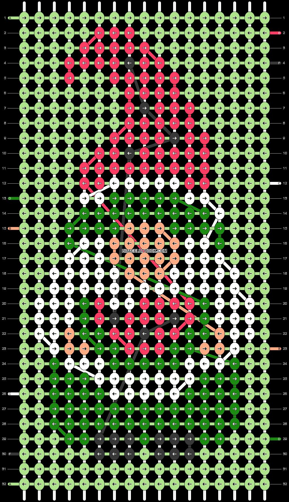Alpha pattern #99021 pattern