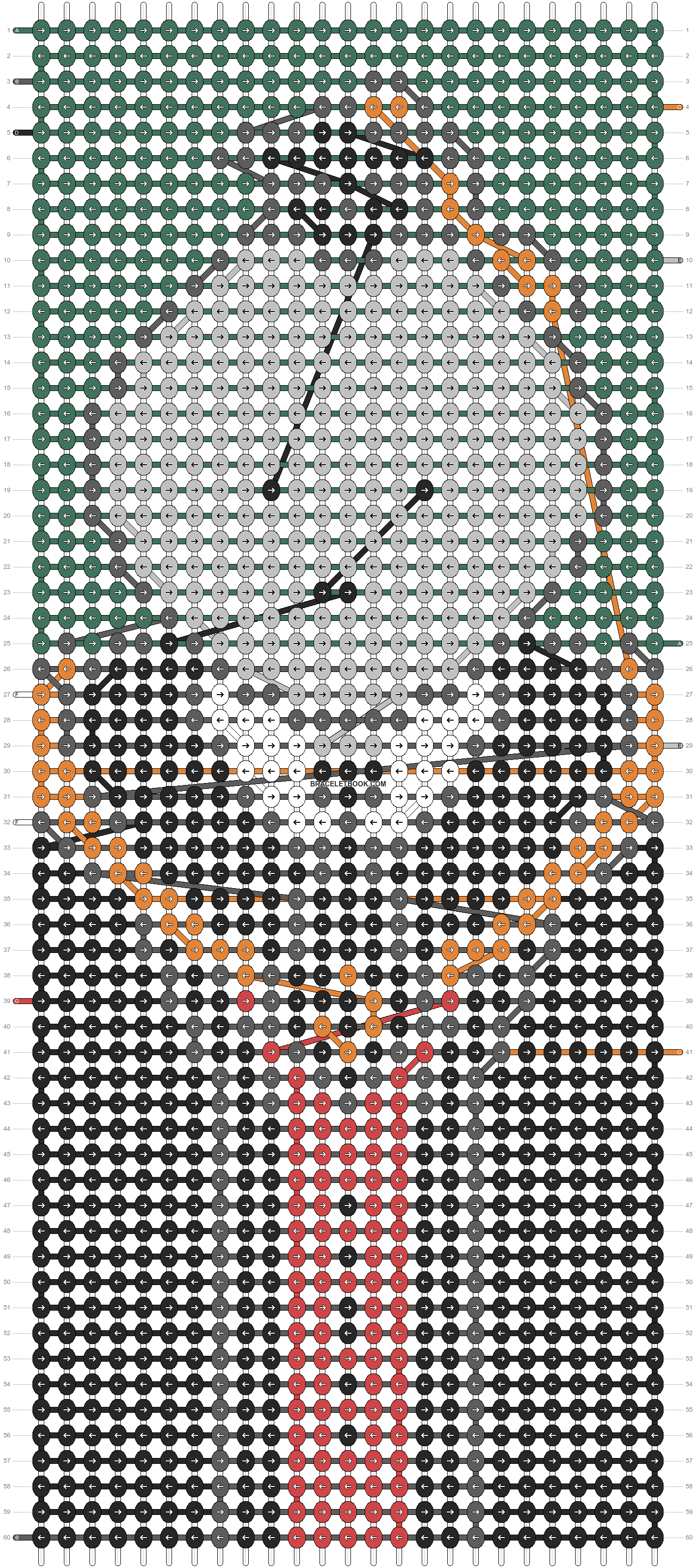 Alpha pattern #99037 pattern