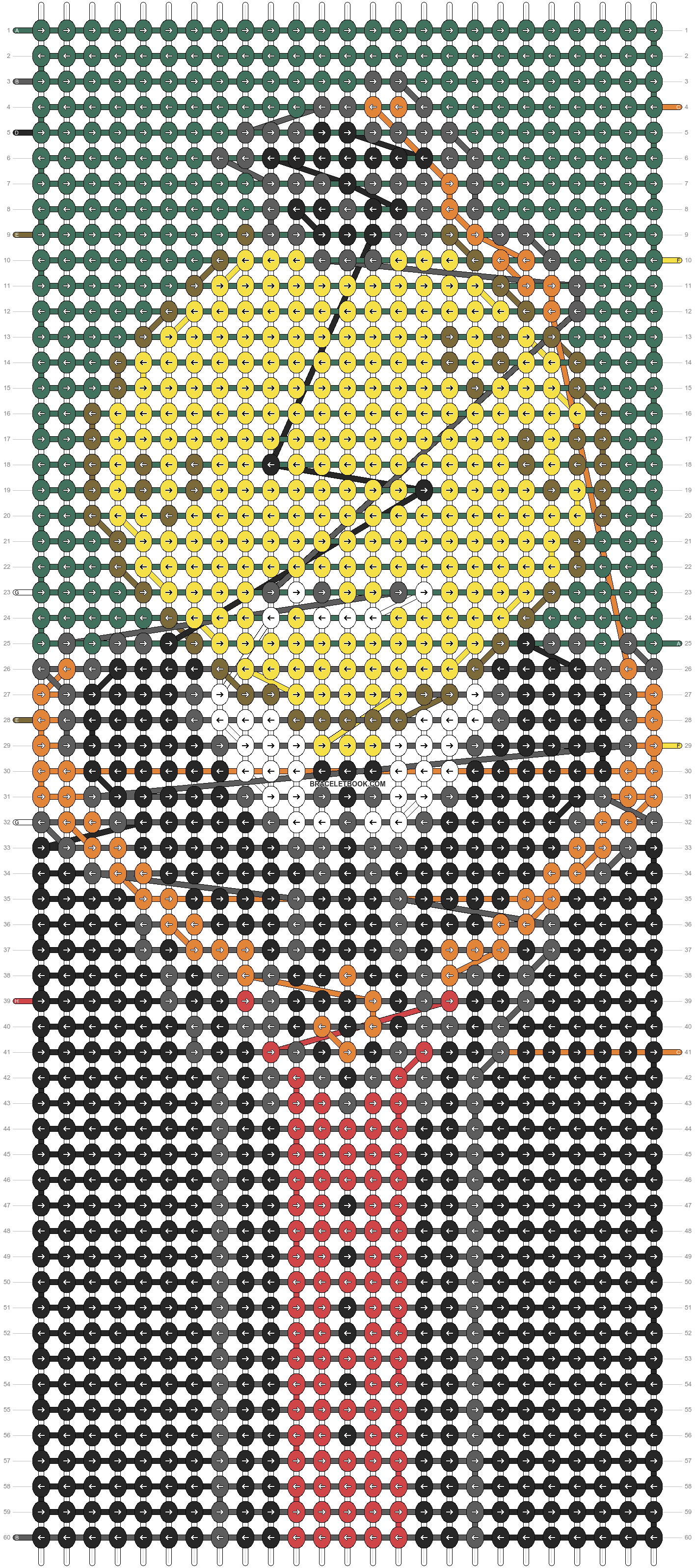 Alpha pattern #99039 pattern