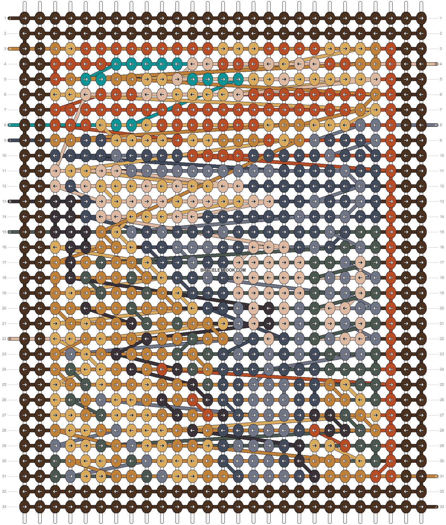 Alpha pattern #99043 pattern