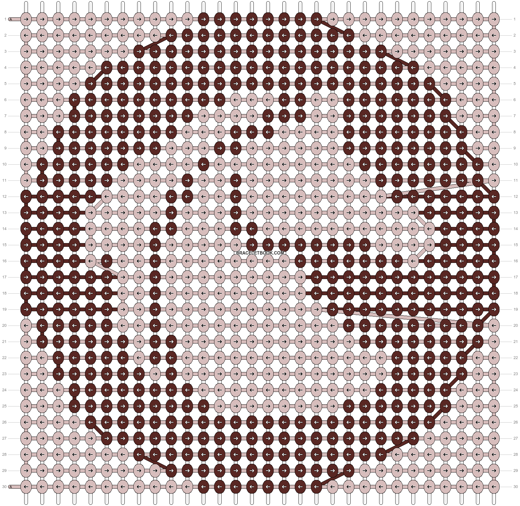 Alpha pattern #99134 pattern