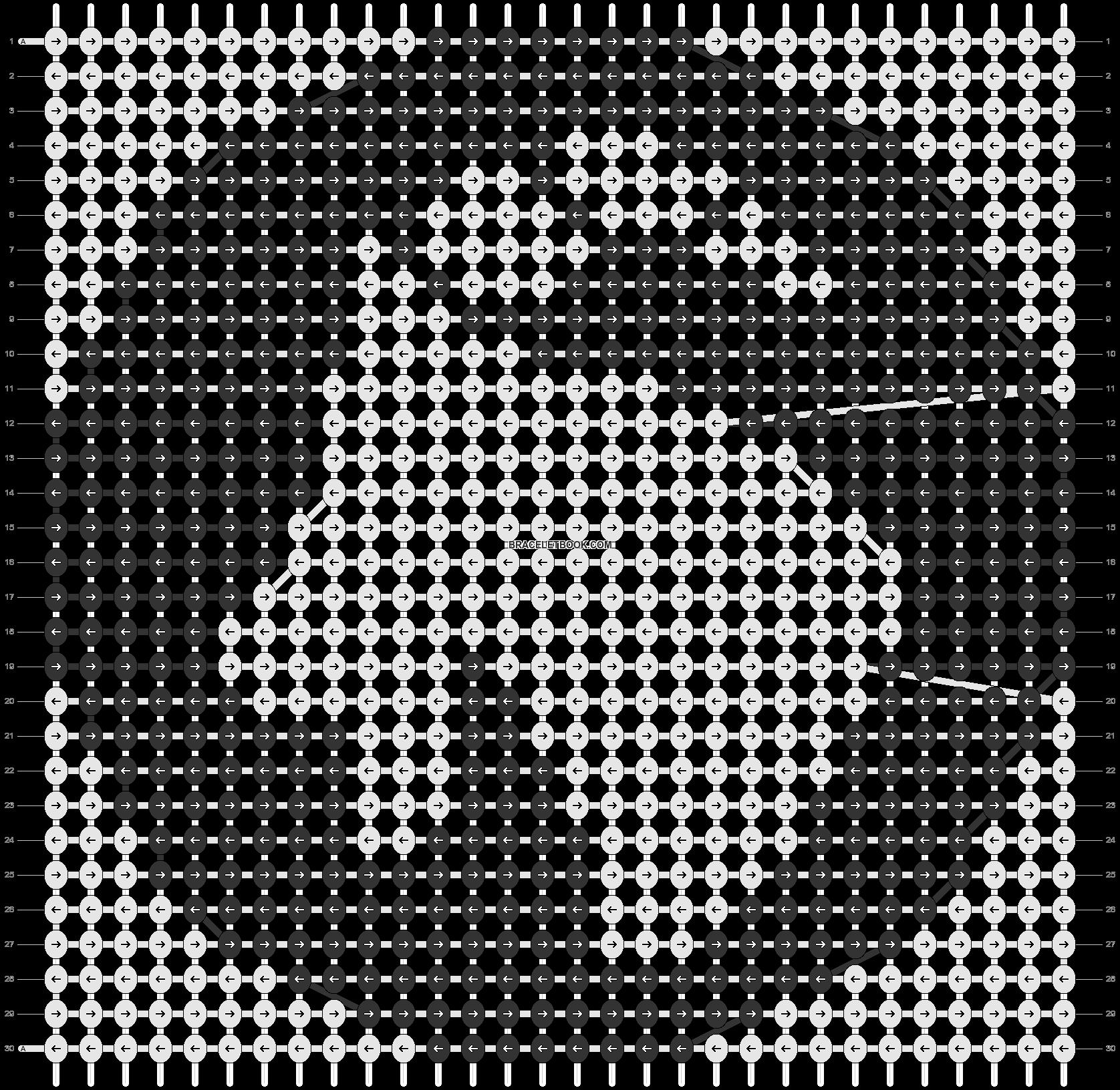 Alpha pattern #99167 pattern