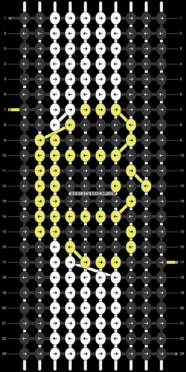 Alpha pattern #99207 pattern