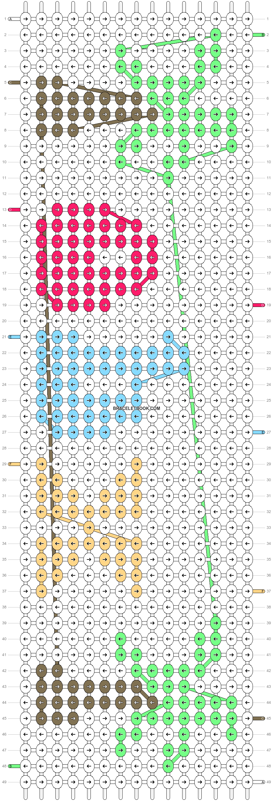 Alpha pattern #99303 pattern