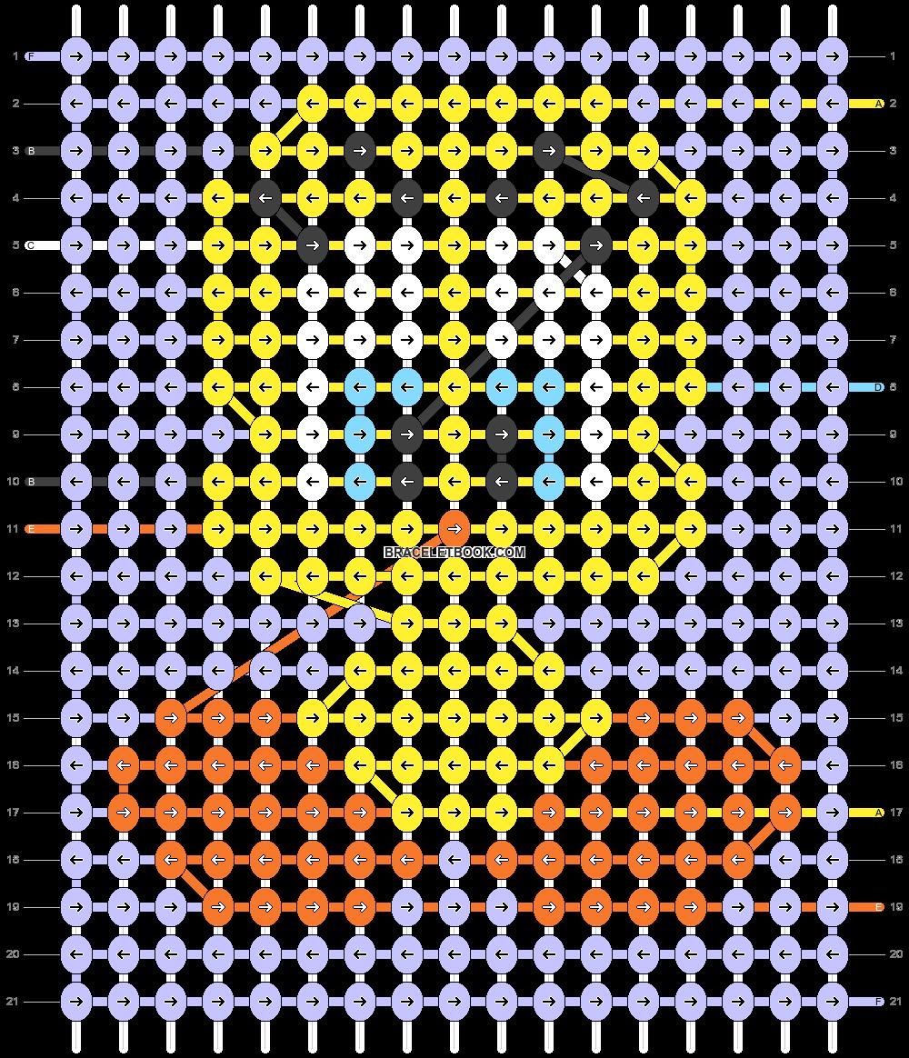 Alpha pattern #99320 pattern