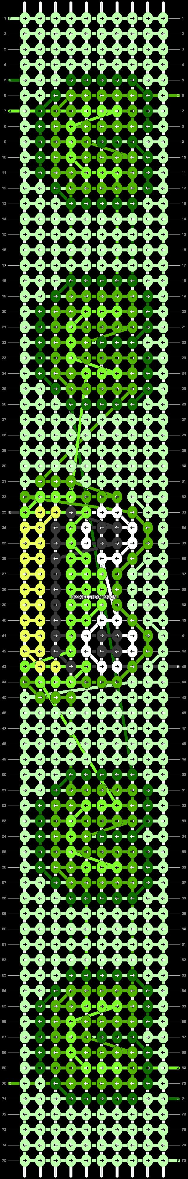 Alpha pattern #99335 pattern