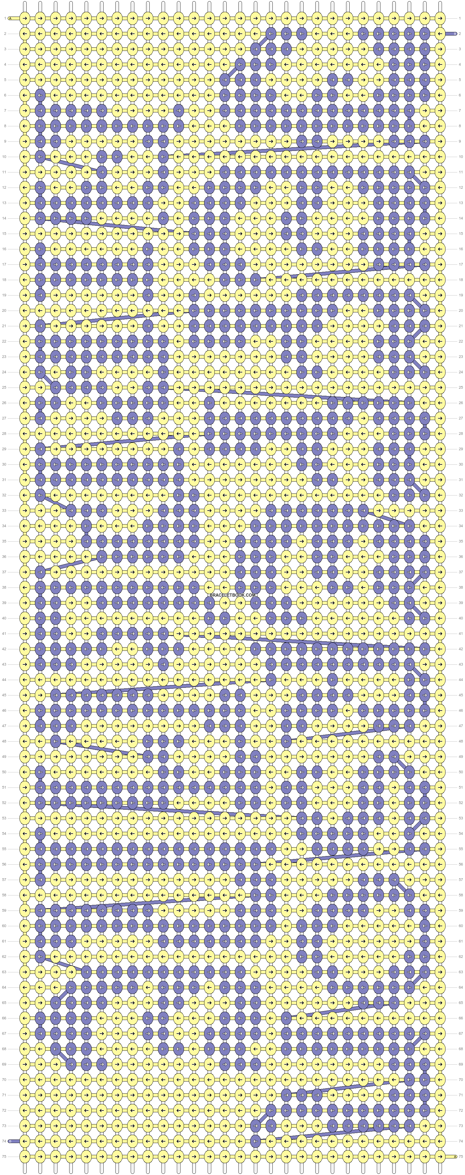 Alpha pattern #99370 pattern