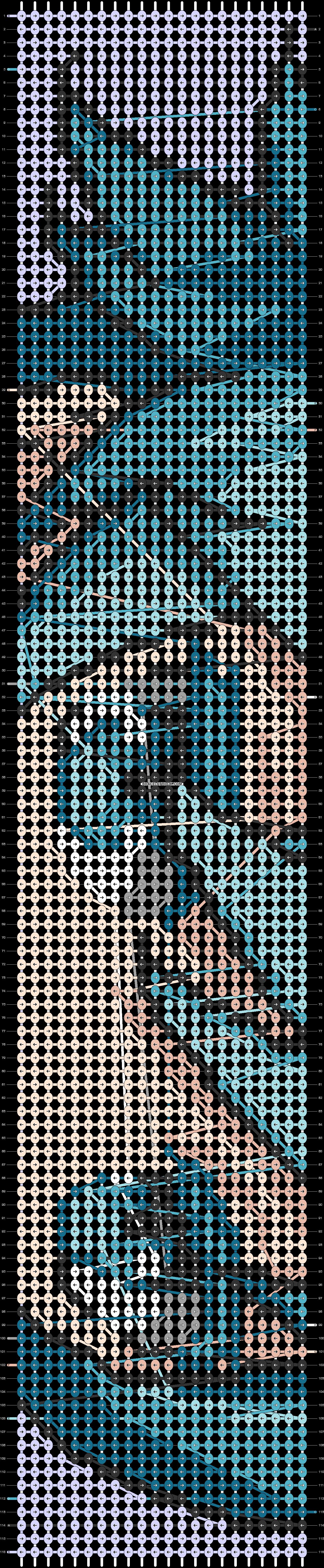 Alpha pattern #99412 pattern