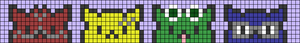 Alpha pattern #99414