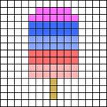 Alpha pattern #99580
