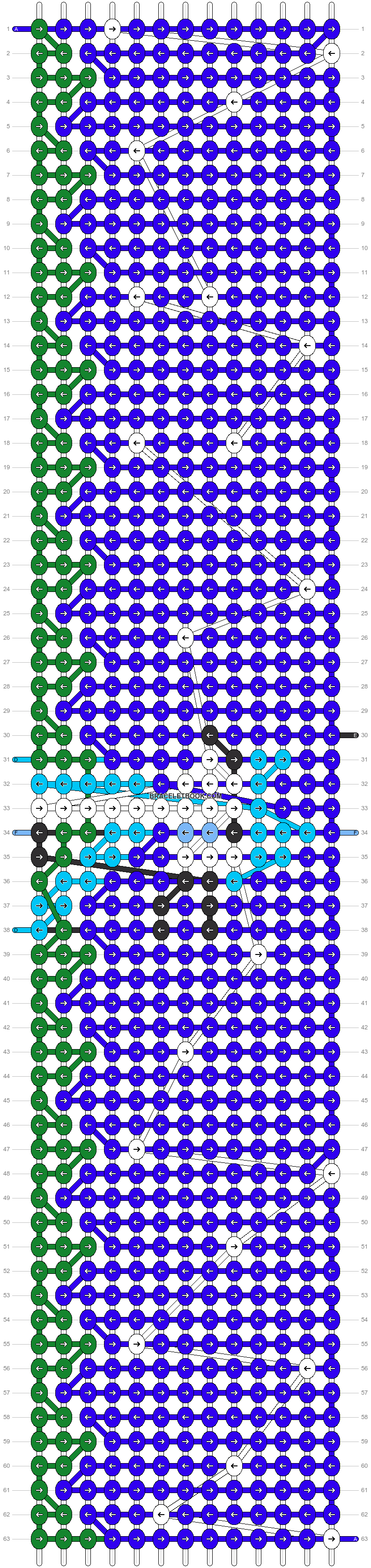 Alpha pattern #99758 pattern