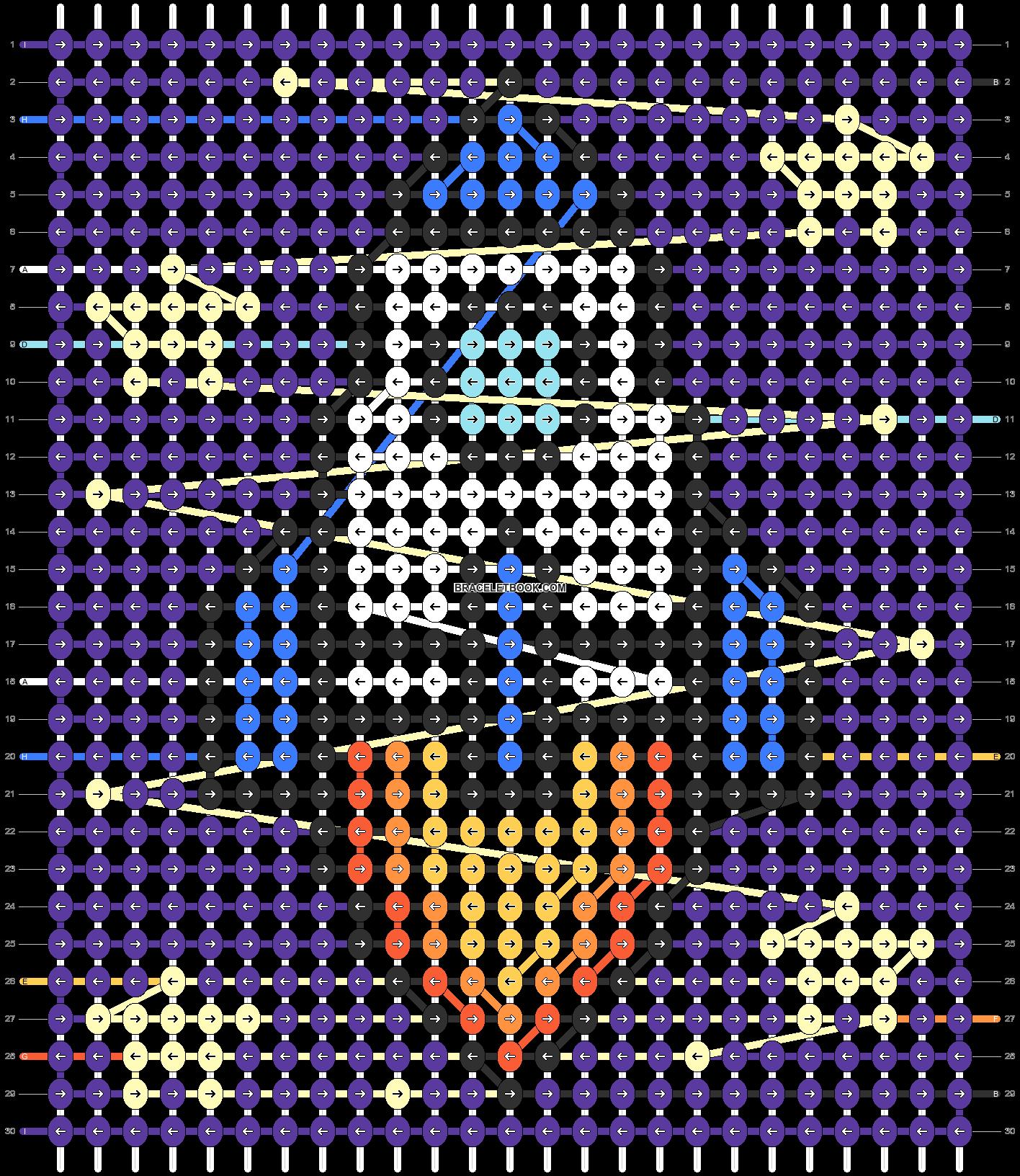 Alpha pattern #99796 pattern