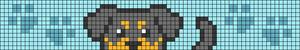 Alpha pattern #99886
