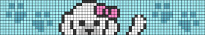 Alpha pattern #99887