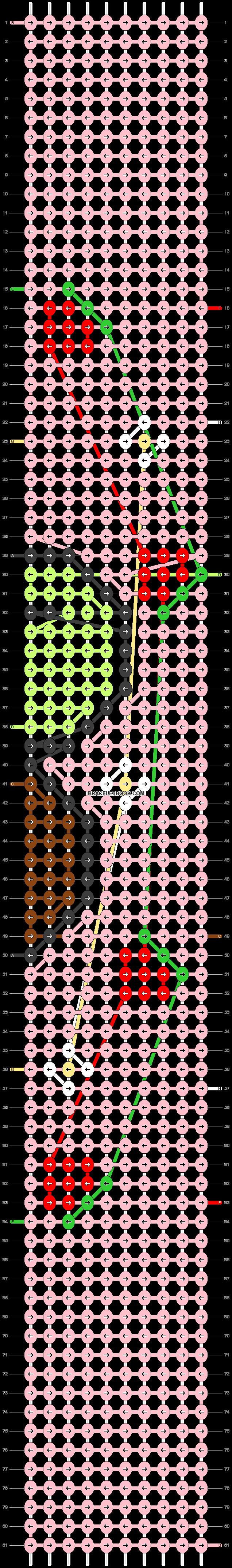 Alpha pattern #100018 pattern
