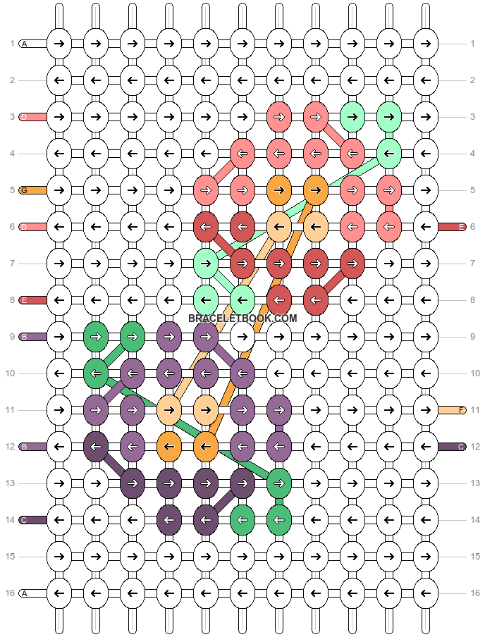 Alpha pattern #100047 pattern