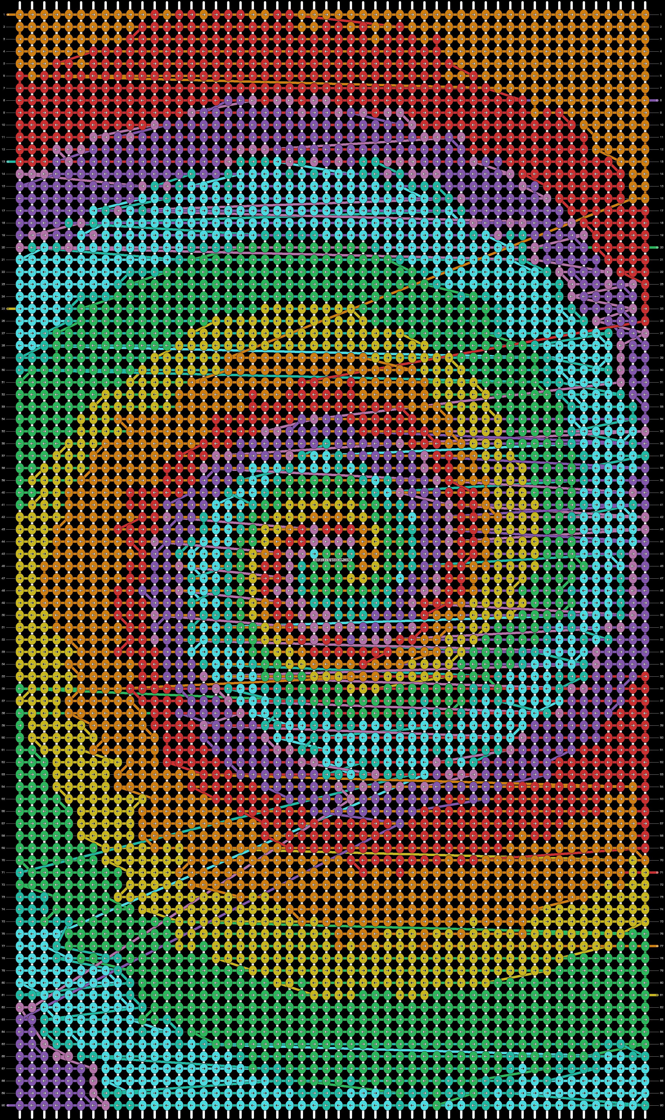 Alpha pattern #100067 pattern