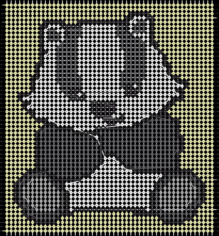 Alpha pattern #100072 pattern