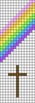 Alpha pattern #100077