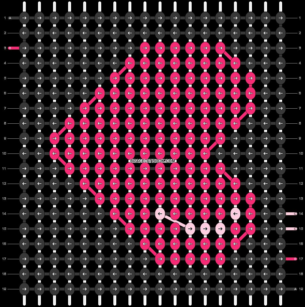 Alpha pattern #100092 pattern