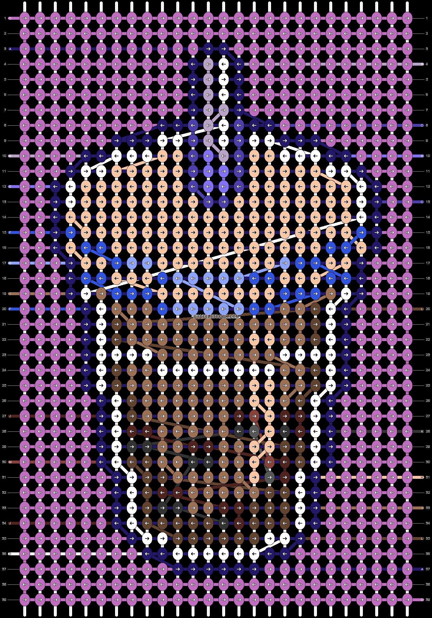 Alpha pattern #100093 pattern