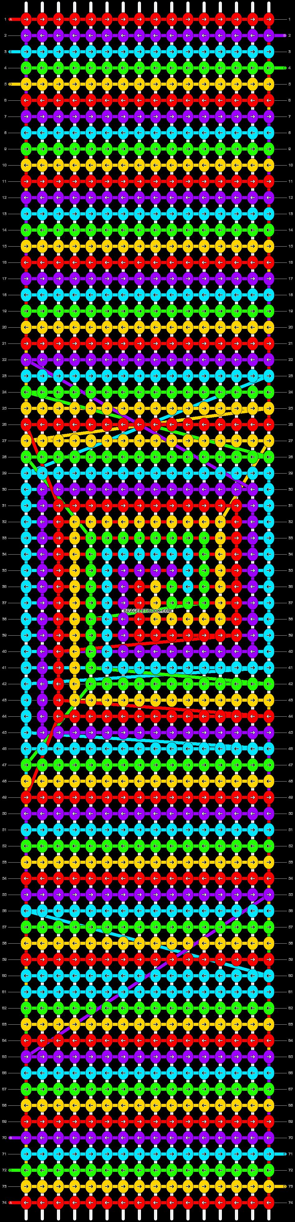 Alpha pattern #100103 pattern