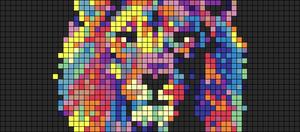 Alpha pattern #100120