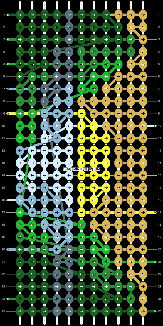 Alpha pattern #100279 pattern