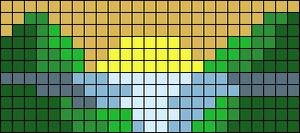 Alpha pattern #100279