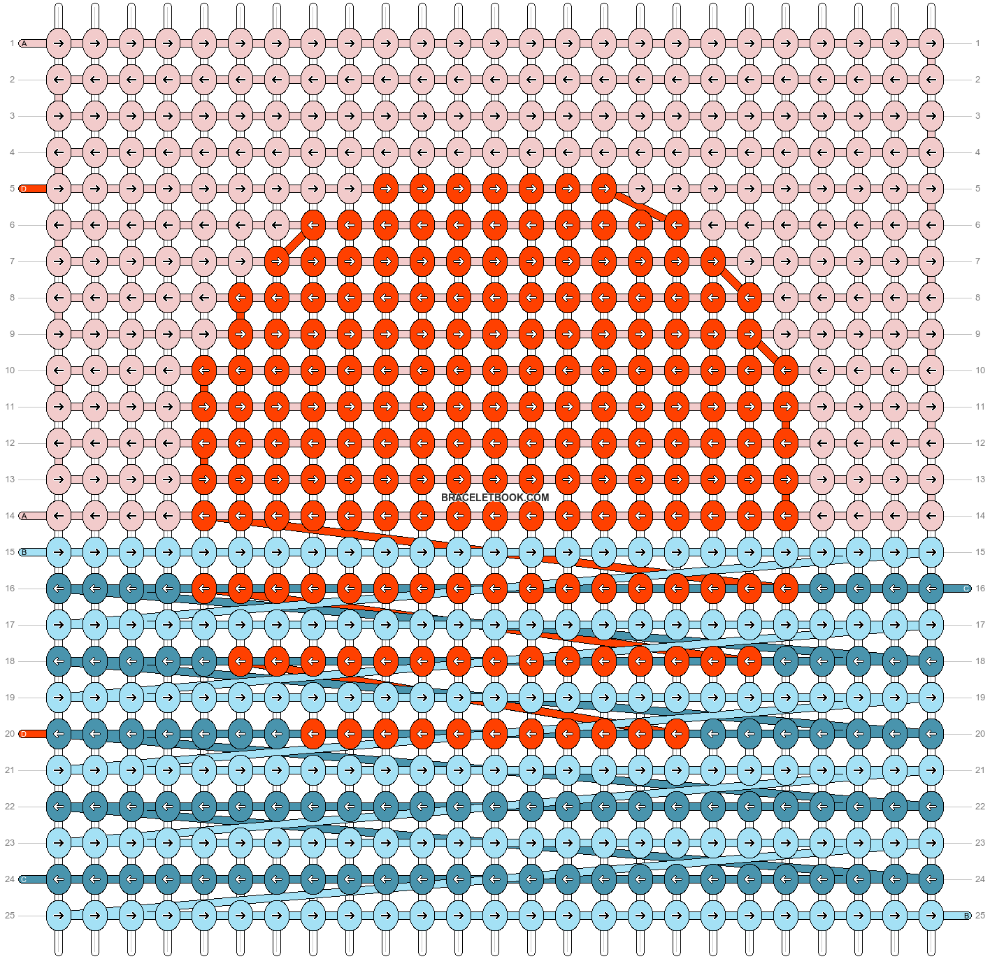 Alpha pattern #100319 pattern