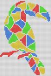 Alpha pattern #100334