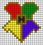Alpha pattern #100357