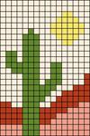 Alpha pattern #100390