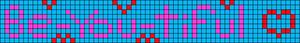 Alpha pattern #100391