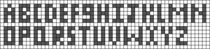 Alpha pattern #100424