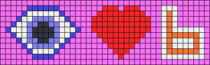 Alpha pattern #100464