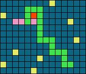 Alpha pattern #100493