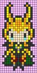 Alpha pattern #100501
