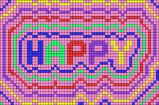 Alpha pattern #100522