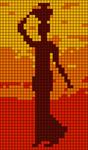 Alpha pattern #100581