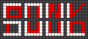 Alpha pattern #100593