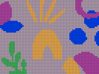 Alpha pattern #100594