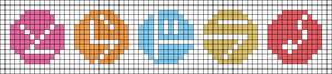 Alpha pattern #100597