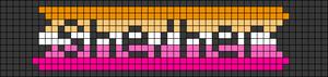 Alpha pattern #100631