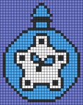 Alpha pattern #100645