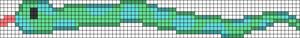 Alpha pattern #100654