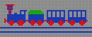 Alpha pattern #100655