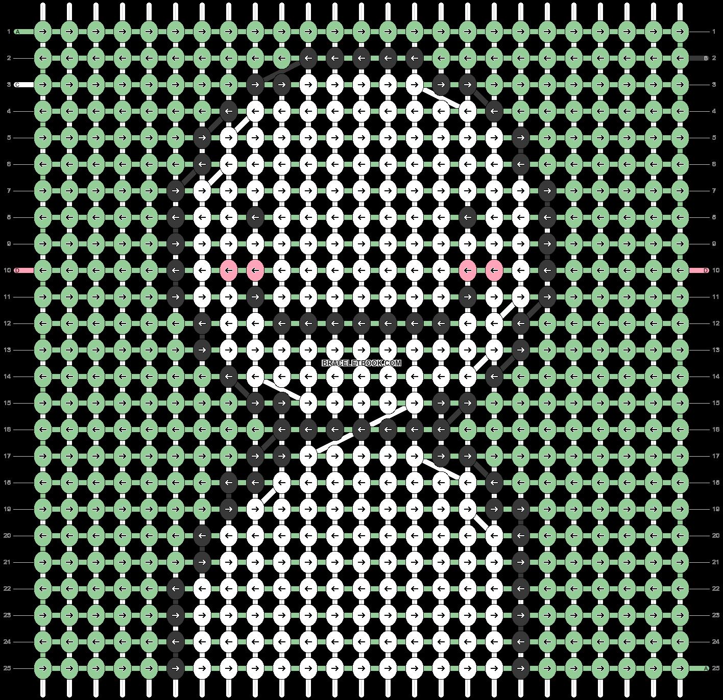 Alpha pattern #100673 pattern