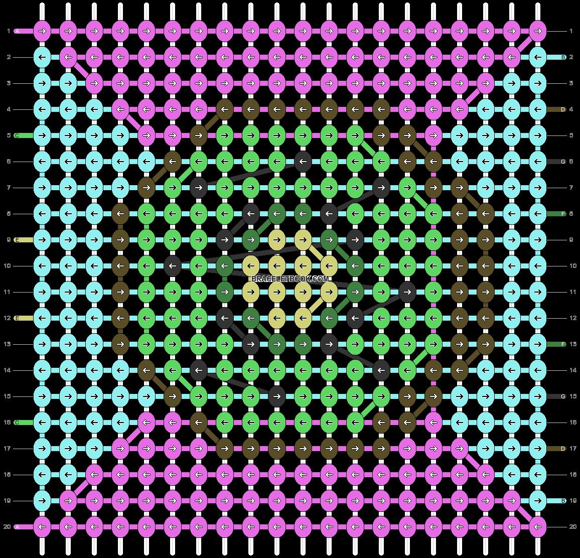 Alpha pattern #100681 pattern