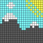Alpha pattern #100683